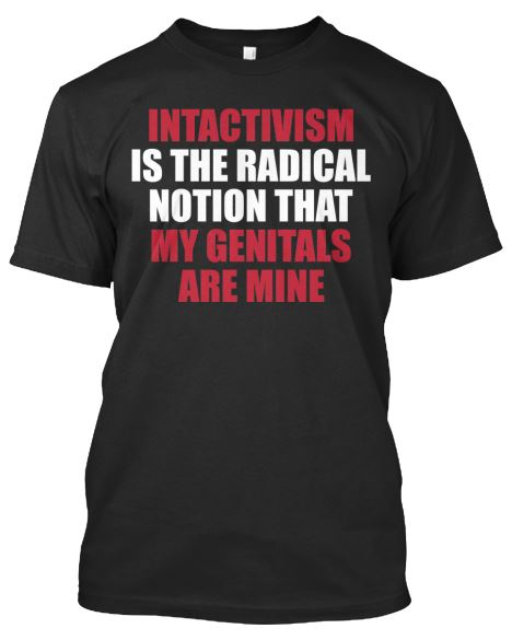 Intactivism T-Shirt_Front