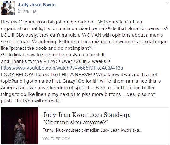 Judy Jean Kwon Actress